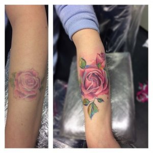 cover-up роза